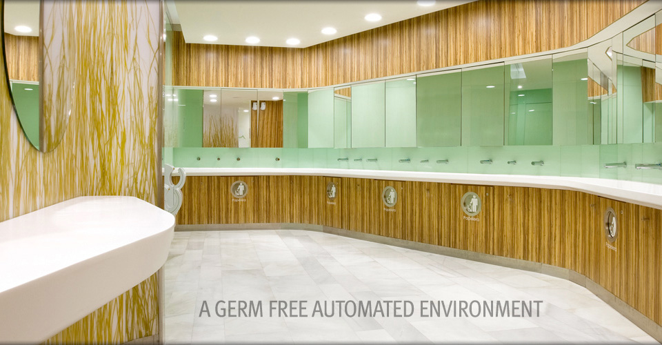 A GERM FREE AUTOMATED ENVIRONMENT